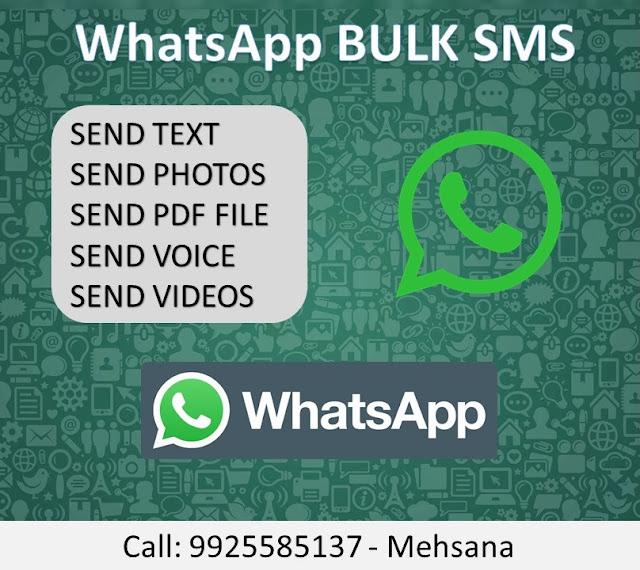 bulk sms mehsana