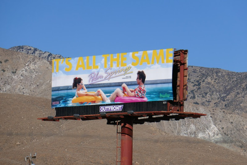 Its all the same Palm Springs FYC billboard
