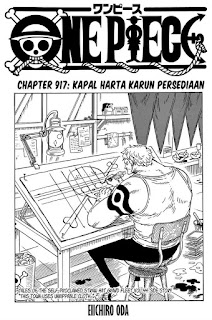 Update! Baca Manga One Piece Chapter 917 Full Sub Indo