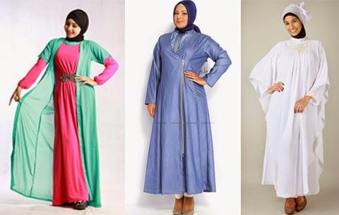 baju hijab trendy wanita gemuk
