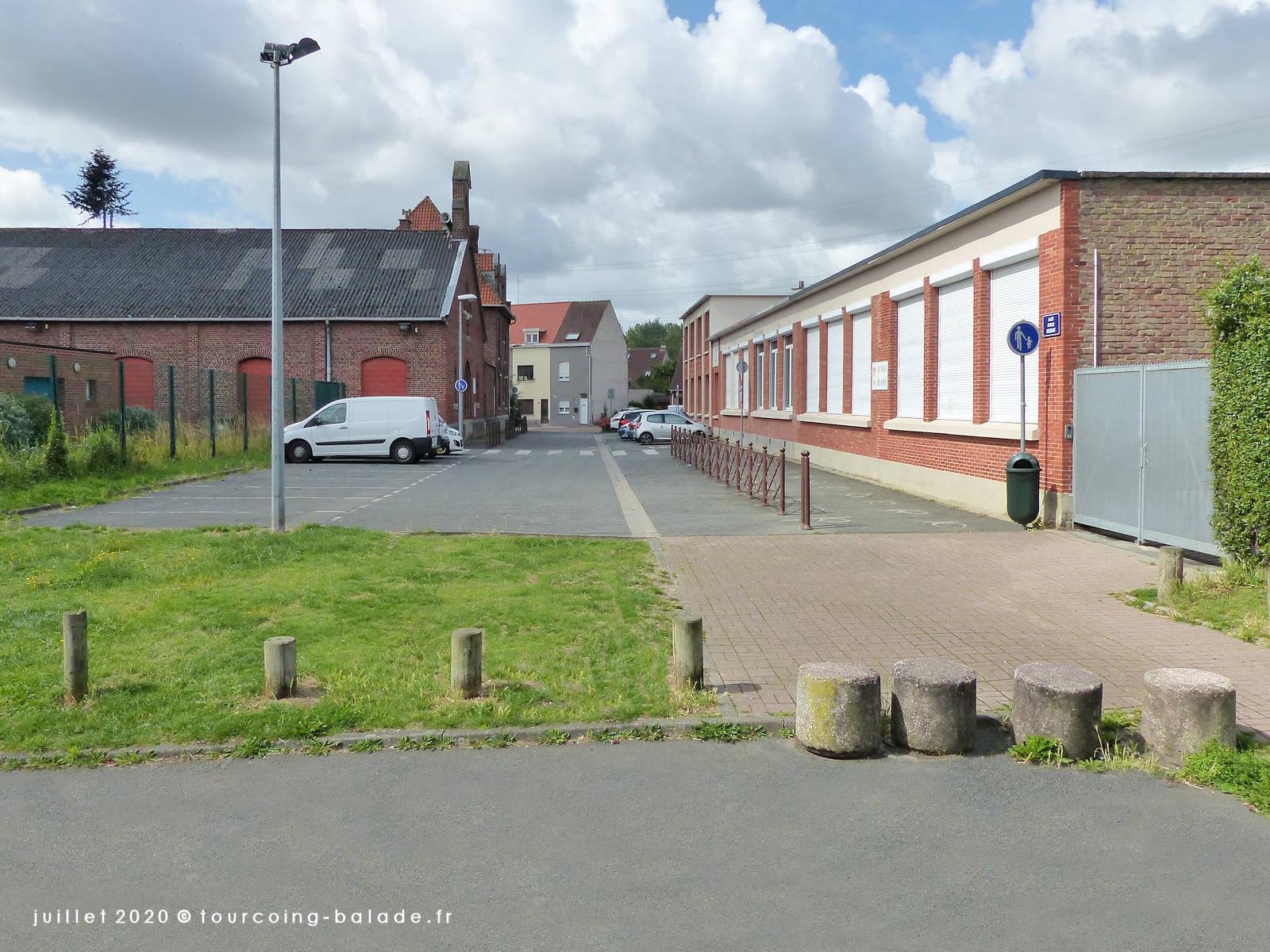 Allée Achille Hodard, Tourcoing 2020