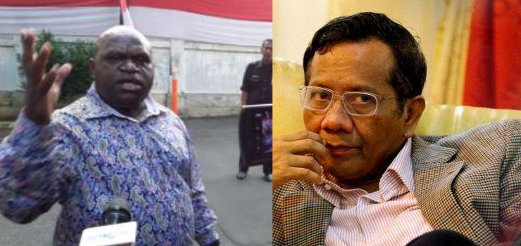 Soal Mahfud MD, Natalius Pigai: Orang Pecatan Komnas HAM Kok Nggak Paham HAM