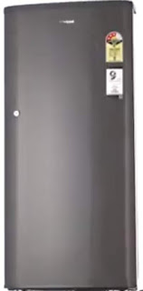 Whirlpool 190 L 3 Star Direct Cool Single Door Refrigerator(WDE 205 CLS 3S GREY-E, Grey)