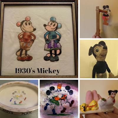 1930's Mickey Mouse memorabilia