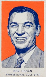 Ben Hogan 1952 Wheaties trading card