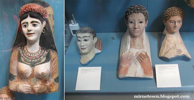 Британский национальный музей - египетский зал