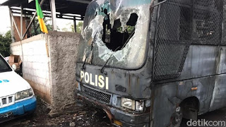 Polda Metro: Polsek Ciracas Diserang 100 Orang Tak Dikenal
