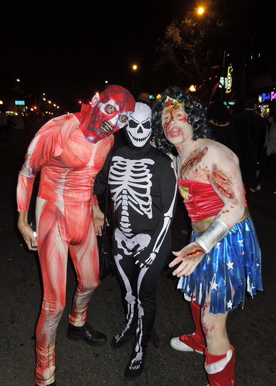 horrifying delights of west hollywood's halloween carnaval 2012