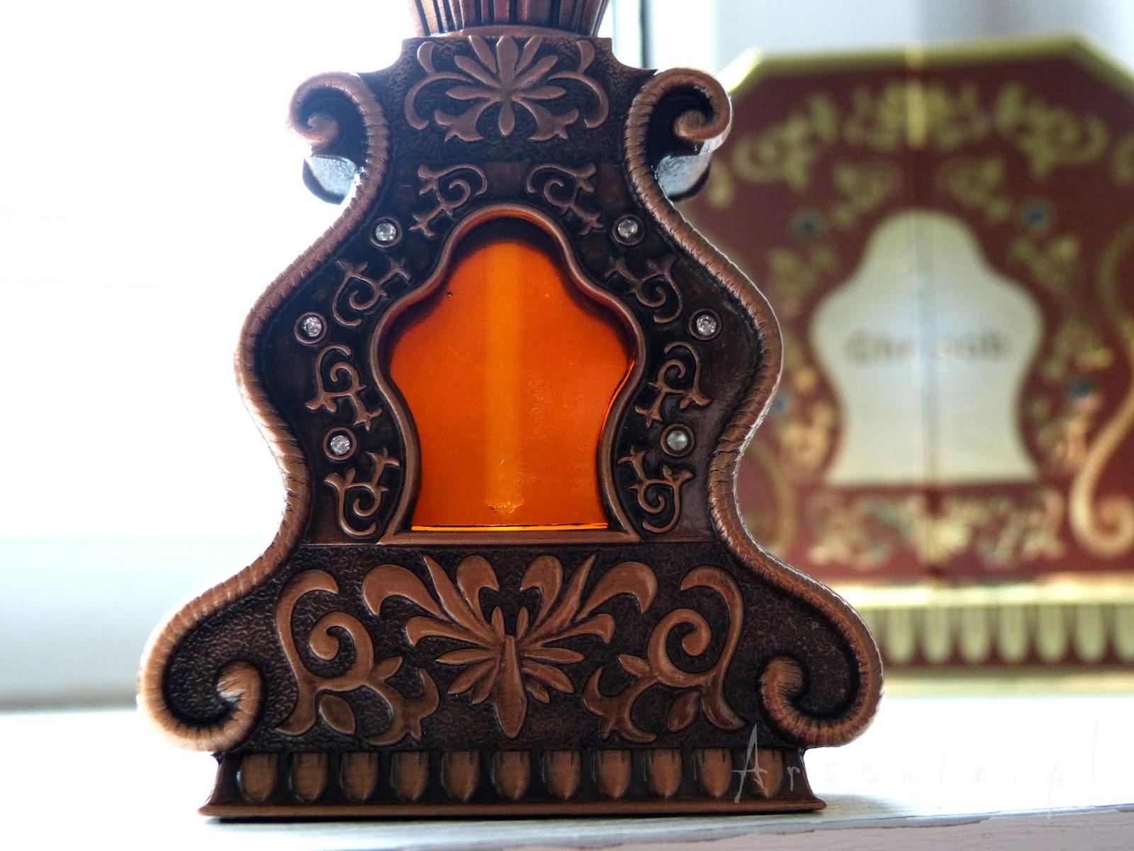 Magiczne, hipnotyczne perfumy w olejku - Arabian Oud Ghroob