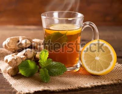 Minum Teh Jahe Membersihkan Paru-Paru dari Asap Rokok