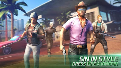 Gangstar Vegas 4  V3.8.2A Mod Apk (Unlimited Money Vip) Terbaru