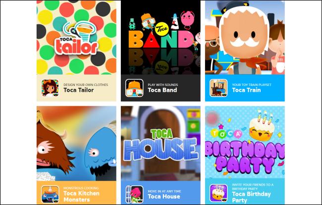 تطبيقات توكا بوكا
