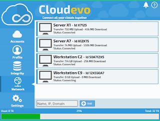 برنامج, لادارة, جميع, الحسابات, الخاصة, بالتخزين, السحابى, وتجميعها, فى, سحابة, واحده, فقط, Cloudevo