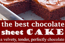 the Best Chocolate Sheet Cake Ever