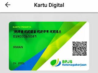 Cara Bikin Kartu Digital BPJS TK (Jamsostek) Di Aplikasi BPJSTKu Versi Terbaru