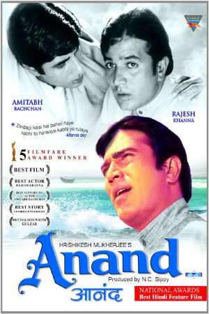 Download Anand (1971) Hindi Movie 720p WEB-DL 1GB
