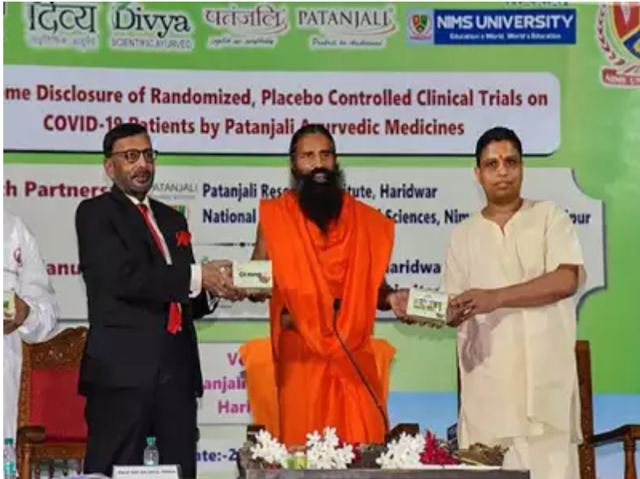 Ramdev Dairy Exec Dies Of Covid, Patanjali Says He Got Allopathy Care