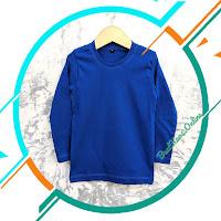 Grosir Kaos Polos Lengan Panjang Anak Perempuan