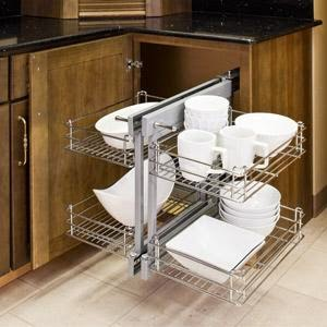 Corner Kitchen Cabinet Storage Ideas picture