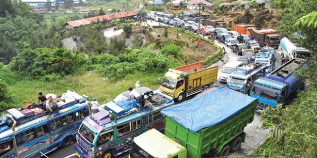 Mendesak, Peningkatan Jalan Nasional Medan-Berastagi