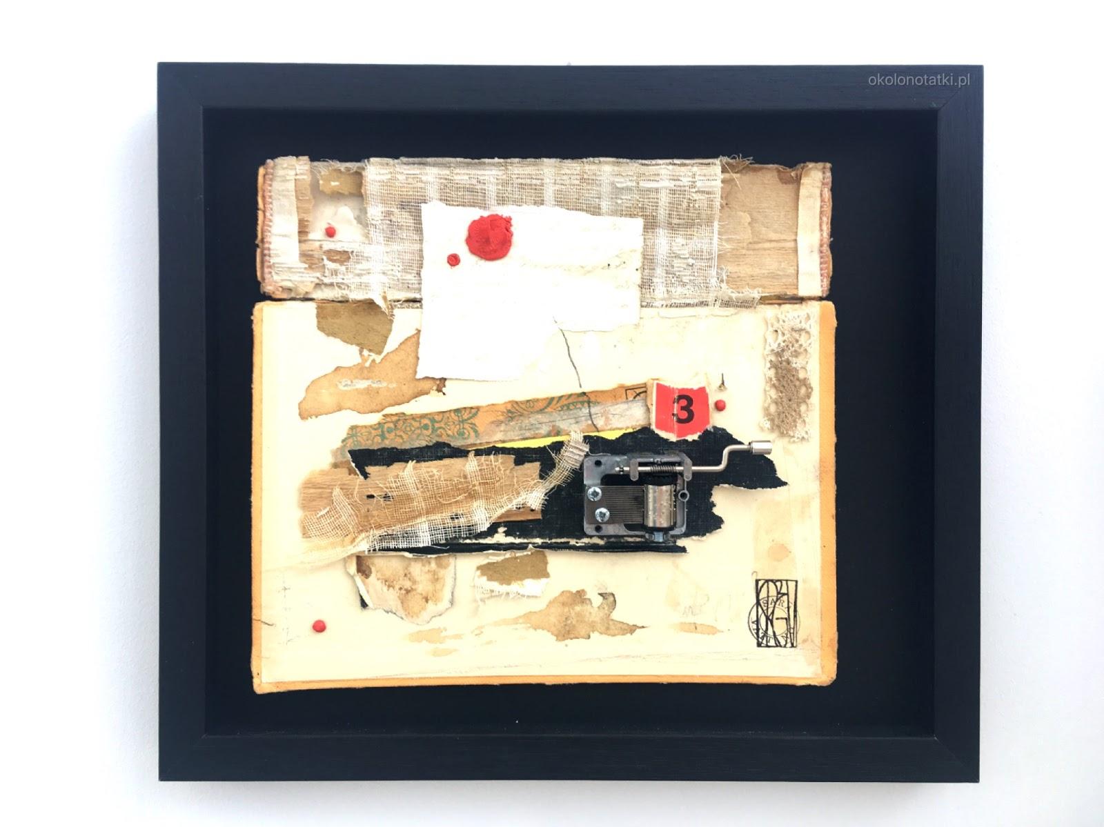 Sara Vattano abstract collage art