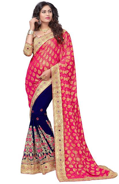 Amazon India Coupons,  Amazon Coupons,  Sarees In Amazon, half sarees online, Saree Price, Shop Designer Sarees, Indian Saree, Half Sarees for Girls, Sarees Online,