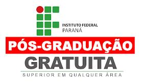 IFPR seleciona profissionais com superior em qualquer área para pós-graduação gratuita