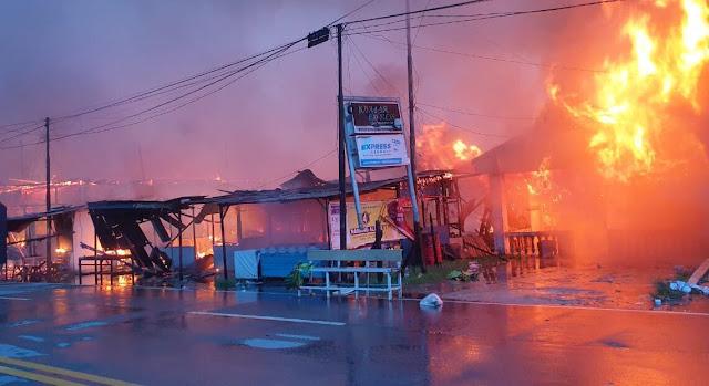 Kerusuhan di Penajam Paser Utara Kaltim, 146 Rumah dan 1 Sekolah Dasar Hangus Terbakar