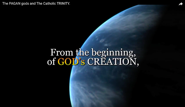 From the beginning of GOD's CREATION,