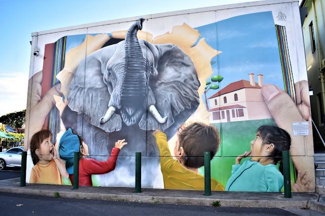 Burwood Street Art   Sid Tapia