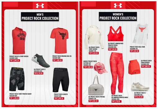 Under Armour Season Sale Extended Project Rock