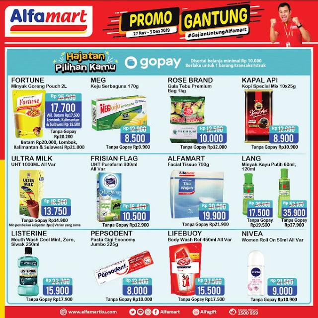 #Alfamart - #Promo Katalog Gajian Untung Periode 27 Nov - 03 Des 2019