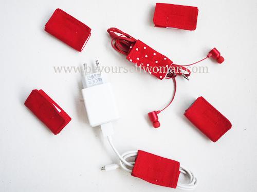 Tutorial Membuat Pengikat Kabel (Cable Ties) Dari Perca, Mudah Banget, Semua Pasti Bisa