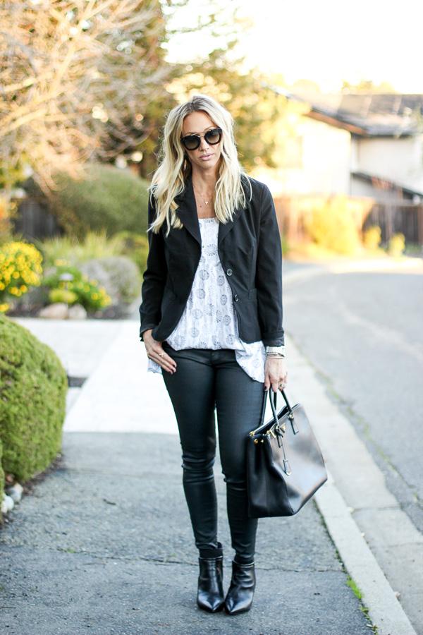 women black blazer
