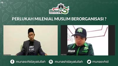 Webinar Pra-munas Hidayatullah Soroti Pemuda dan Problem Kebangsaan