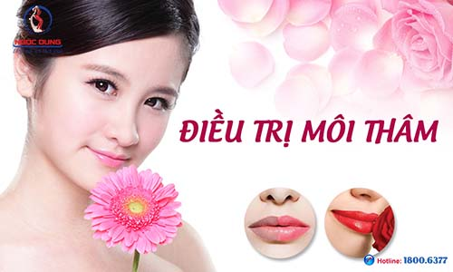 Xử lý môi thâm trước khi phun môi để môi lên màu đẹp
