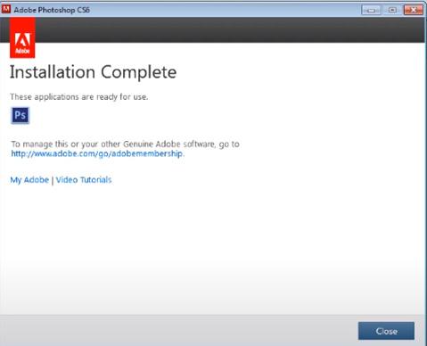 Hướng dẫn cài đặt phần mềm Photoshop CS6 đơn giản và chi tiết f