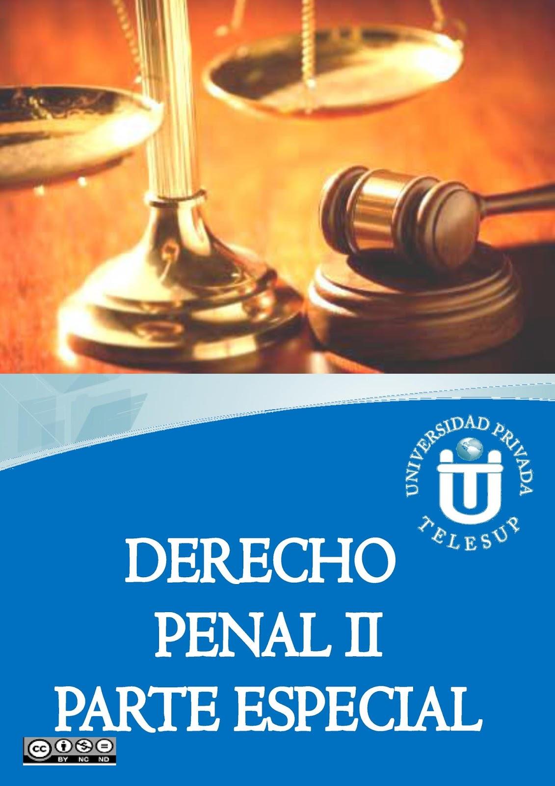Derecho penal II parte especial – TELESUP