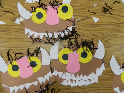 Máscaras de Wild things de Where the wild things are