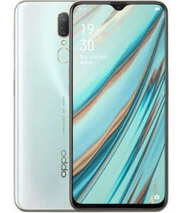 Oppo A9 Ice Jade White