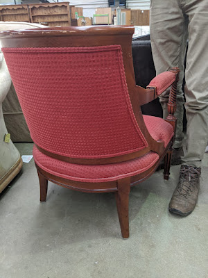 upcycle project 1930s chair liquid grain home