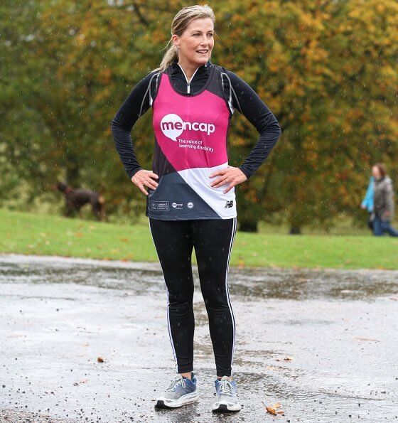 The Countess of Wessex is the first working Royal Family member to take part in the London Marathon. Princess Beatrice ran the race in 2010