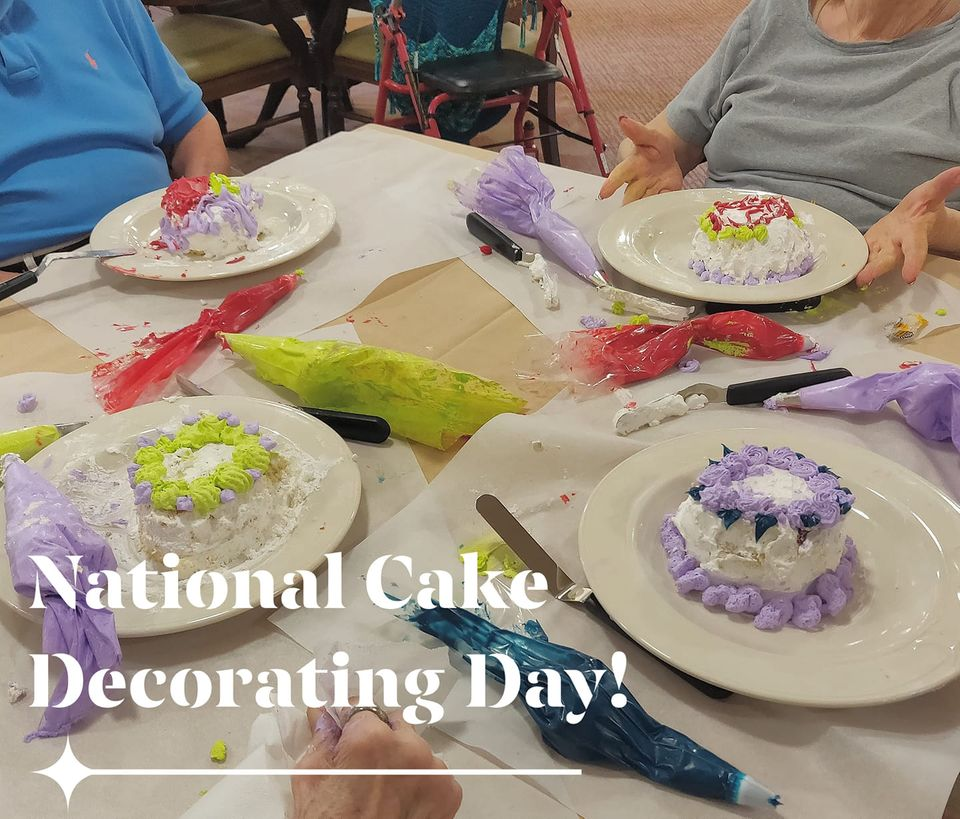 National Cake Decorating Day Wishes Pics