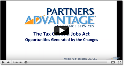 Opportunities Generated by the Tax Cut and Jobs Act (TCJA) On-Demand Webinar