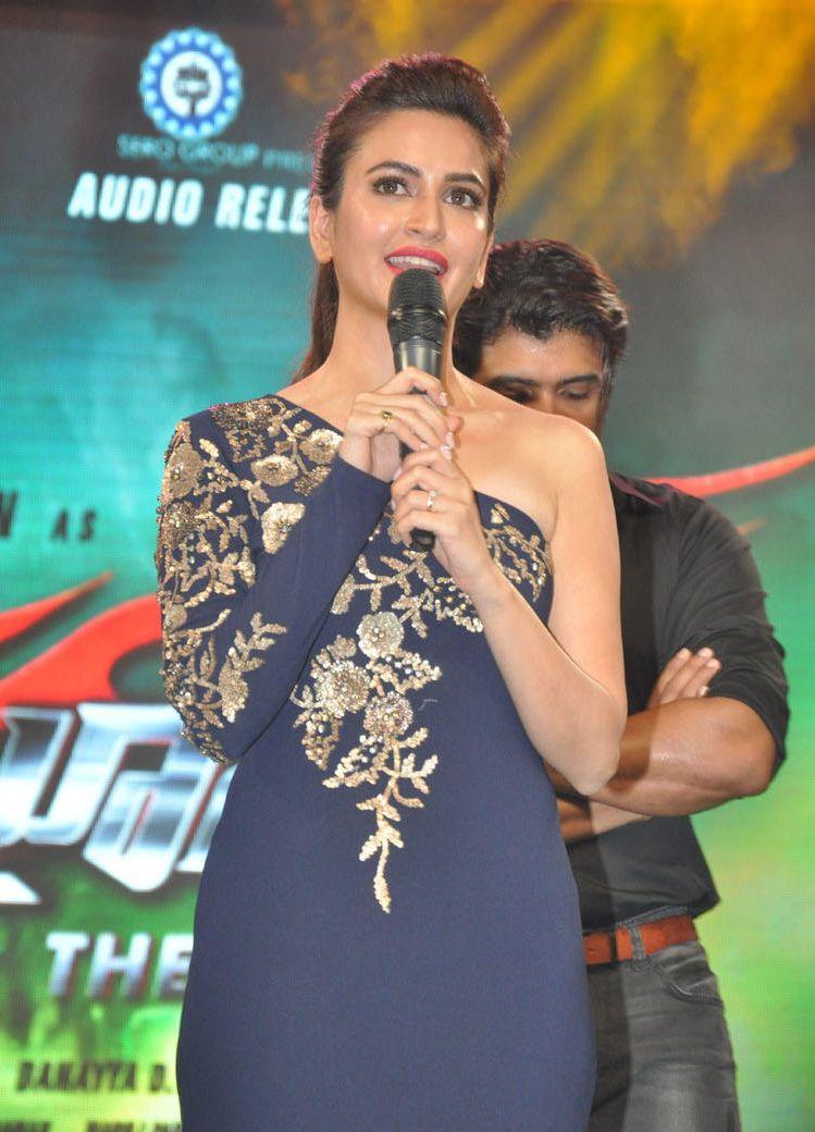 HQ Photo of Raaz Reboot Actress Kriti Kharbanda at Bruce Lee - The Fighter Music Launching Ceremony