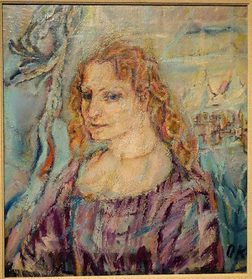Alma Mahler painted by Oscar Kokoschka in 1912
