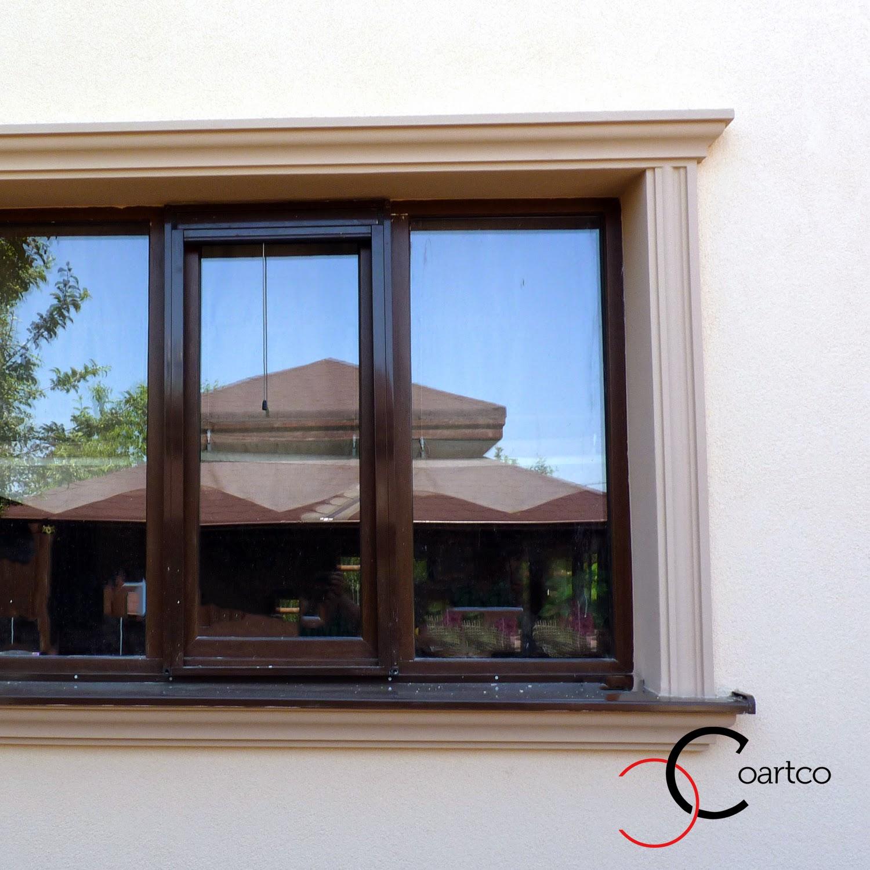profile arhitecturale, ancadramente ferestre exterior, decoratiuni exterioare case, profile decorative