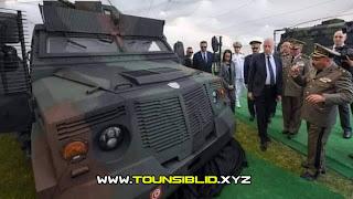 (بالصور) الجيش التونسي يتمكن من صنع عربة مصفّحة مضادة للألغام