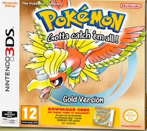 Rom Pokemon Gold Version 3DS