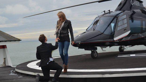 Pide en matrimonio a tu pareja en helicóptero - Foto: www.marcianosmx.com